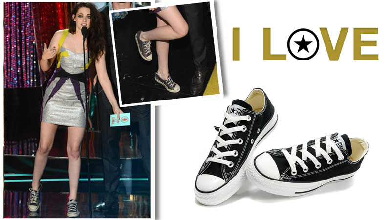 5501412a5a35d5 30+ Female Celebrities that Love Converse Sneakers and Wear Them ...